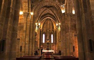 Interior San Juan de Rabanera   Soria