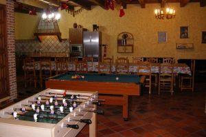 Casa rural con billar y futbolin en Segovia