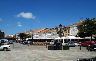 Plaza Mayor - Aguilar de Campoo