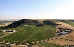 Vistas Castillo de Curiel de Duero
