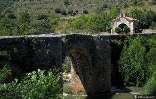 Puente y Ermita de San Antonio - Pesquera de Ebro