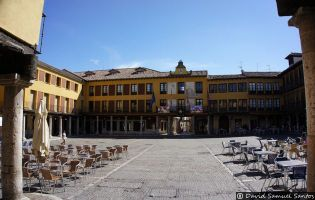 Plaza Mayor - Tordesillas.