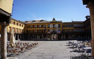Plaza Mayor - Tordesillas.