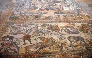 Mosaico - Villa romana la Olmeda