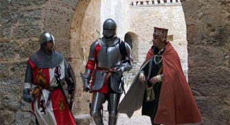 Representaciones históricas Castillo de Villafuerte