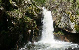 Senda de los Monjes, Cueva de San Martín y Cañón del Tera