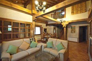 Salón Casa rural Abuelo Regino