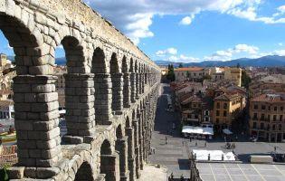 Panorámicas del Acueducto de Segovia
