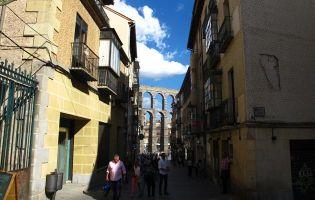 Monumentos en Segovia - Acueducto romano