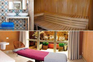 Piscina termal, sauna y tratamientos spa - Alojamiento rural en Santo Tomé del Puerto - Segovia