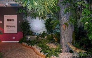 Centro de Visitantes del Árbol Fósil de Hacinas.