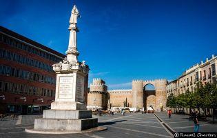 Puerta del Alcázar - Ávila