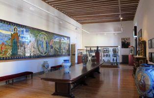 Cristal de La Granja - Museo Palacio Episcopal - Exposición Vidrio de La Granja