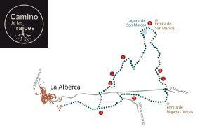Camino de las Raices - La Alberca
