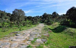 Calzada romana - Puente Mocho