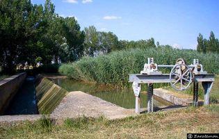 Esclusa Abarca de Campos - Canal de Castilla