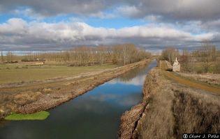Canal de Castilla - Requena de Campos