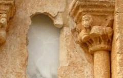 Caracena Conjunto Histórico - Ábside Iglesia de San Miguel