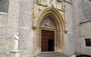 Gótico isabelino - Portada Cartuja de Miraflores - Burgos