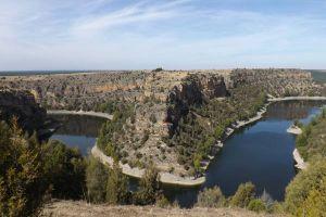 Parque Natural de las Hoces del Río Duratón - Casa rural de la Abuela Rufa en Fuenterrebollo - Segovia