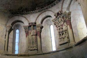Retablo románico Iglesia de Santiago - Entorno Casa Astarloa