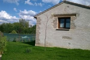 Jardín Casa rural La Cabaña de Polendos