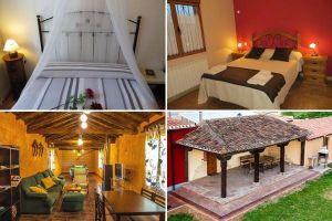 Casa rural con con sala de juegos, billar, futbolín y parque infantil en Burgos