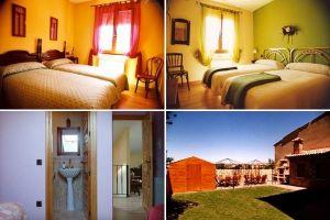 Habitaciones, baño y cocina en el Camino de Santiago - Burgos