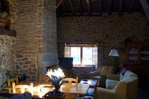 Salón casa rural Malangosto