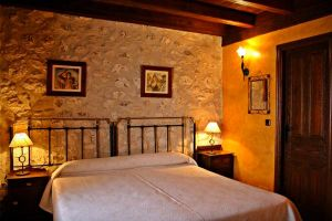Casa rural situada entre la localidad de Peñafiel y las Hoces del Duratón