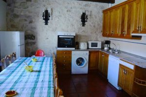 Cocina Casa rural Nines