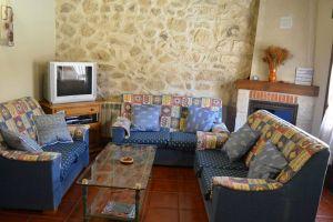 Sala de estar Casa rural Nines