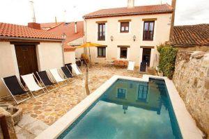 Casa rural piscina avila