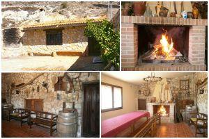 Casa rural con merendero tradicional y bodega subterránea en la provincia de Burgos