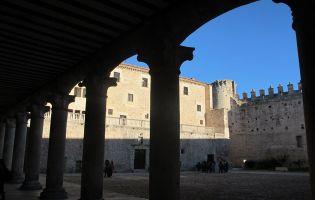 Galería patio de armas - Castillo de Cuéllar
