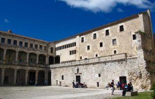 Patio de armas - Castillo de Cuéllar