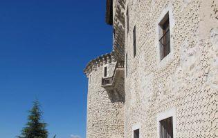 Esgrafiado segoviano - Castillo de Cuéllar