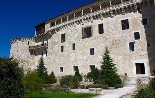 Galería renacentista de la fachada sur - Castillo de Cuéllar
