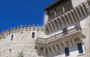 Torre de Santo Domingo y balcones - Castillo de Cuéllar