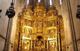 Retablo Mayor - Catedral de El Burgo de Osma