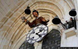 El 'Papamoscas' y el 'Matinillo' - Catedral de Burgos