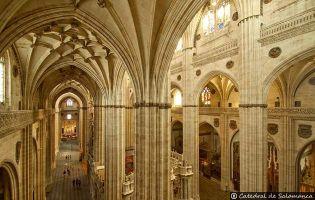 Interior - Catedral nueva de Salamanca