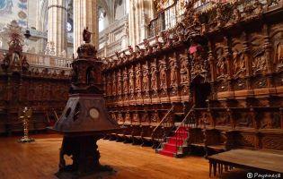 Sillería del Coro - Catedral nueva de Salamanca