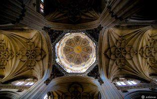 Cupula Interior - Catedral nueva de Salamanca