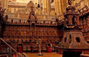Coro - Catedral nueva de Salamanca