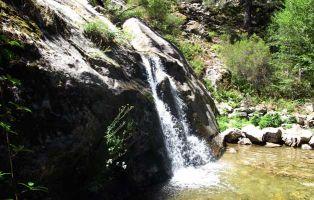 Cascada El Chorro de Navafría - Paraje natural de Segovia