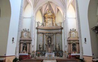 Retablo Iglesia de Coca y Sepulcros de la familia Fonseca
