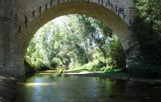 Puente sobre el Río Eresma - Puente Grande en Coca