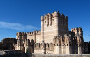 Arquitectura mudéjar en Segovia - Castillo de Coca