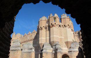 Viajar con niños Segovia - Castillo de Coca